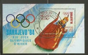 "Laos SC # 479 Winter Olympics Sarajevo' 84 ' Bobsled "" . MNH"