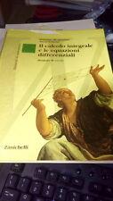 Il calcolo integrale e le equazioni differenziali. Modulo W verde
