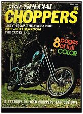MCW SPECIAL CHOPPERS MARCH 1972 SEE CONTENTS 70's CUSTOM STREET CHOPPERS TECH