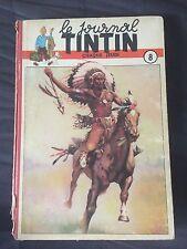 HERGE Journal Tintin - Reliure Éditeur 8-EO -BELGE (1949)