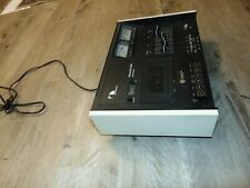 Nakamichi 500 Dual Tracer Vintage Cassette Deck Works Slow Needs Service Repair