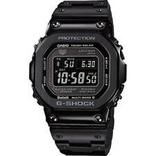 New Casio G-Shock Full Metal Black IP 35th Anniversary LTD Watch GMWB5000GD-1