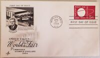 New York 1964 World's Fair, Postage Stamp Embossed Envelope AC First Issue USA
