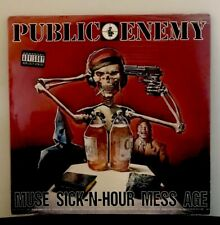 Public Enemy - Muse Sick-N-Hour Mess Age 1994 Original LP Vinyl Record (Sealed)