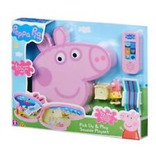 BRAND NEW Peppa Pig Pick Up & Play Playset With Sound - SEASIDE (AUS STOCK)