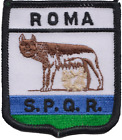 Italy Rome Roma City Shield Embroidered Patch