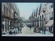 More details for jersey halket place shows market hall & willcox fancy linen store c1905 postcard