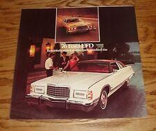 Original 1976 Ford LTD Foldout Sales Brochure 76 Brougham Landau