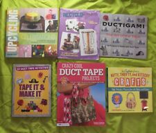 6Bk Craft Classics Duct Tape Kitsch Recycle After School Recyclo-Gami Vintage