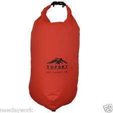 25L Waterproof Dry Bag For Canoe Kayak Fishing Red