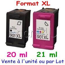 Cartouches d'encre compatibles remanufacturées HP 901 XL ( Noir / Couleurs )
