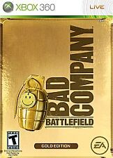 Battlefield: Bad Company -- Gold Edition (Microsoft Xbox 360, 2008) DISC ONLY