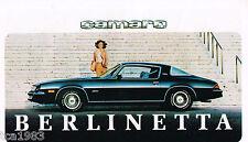 1979 Chevy Brochure:CORVETTE,CAMARO,MONZA,PICKUP Truck,NOVA,RV,MONTE CARLO,