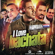 DJ Willie I Love BACHATA (Mix CD) Pop Old School Dance Non Stop Mixtape
