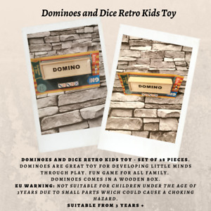 Dominoes and Dice Retro Kids/Children/Family Toy/Board Game GN Games