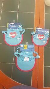 +Top Paw The Smurfs Headwear for Dogs Blue and Red Hearts Size Medium NWT