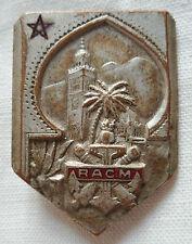 RACM Régiment Artillerie Coloniale du Maroc insigne Drago OM original 1947