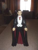 Dracula Vintage Figure Universal Studios Full Body Drink Cup 1998 Very Good