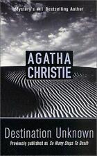 Destination Unknown (St. Martin's Minotaur Mysteries) by Christie, Agatha