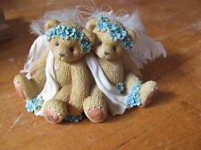 Cherished Teddies Enesco Chantel & Fawn We're Kindred Spirits 661740 2 piece