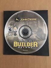 John Deere American Builder Deluxe PC Perfect Rare