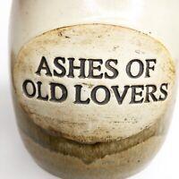 Vintage Ashes of Old Lovers Stegall Stoneware Studio Pottery Crock Jar Signed