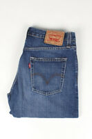 31472 Levi's Levi Strauss 514 Slim Straight Blau Herren Jeans Größe 32/30