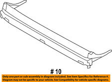 FORD OEM-Sunroof Wind Air Deflector 8A5Z54500A26A