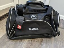 NWT OGIO Duffle Gym Bag Travel Black Twin Cities Orthopedics