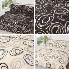 Bettwäschegarnituren mit Kreis Kissenbezug aus Polyester