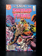 COMICS: DC: Saga of the Swamp Thing #22 (1980s) - RARE (batman/alan moore/flash)