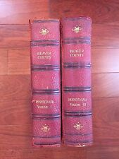 Beaver County Pennsylvania Volume I and II GENEALOGY AND PERSONAL HISTORY 1914