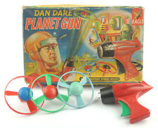 Vintage Merit Dan Dare Planet Gun With Spinning Missiles 1950s *BOXED*