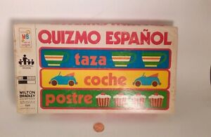 Vintage Quizmo Espanol Educational Game To Learn Spanish Words And English Words