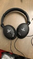 Audio-Technica ATH-ANC9 QuietPoint Noise-Cancelling Headphones,W/Case,Hookups