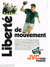 PUBLICITE ADVERTISING 065  1995  JVC le caméscope VHS