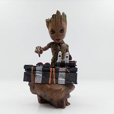 Guardians of The Galaxy Vol. 2 Baby Groot Figure Movie Scene Statue New In Box