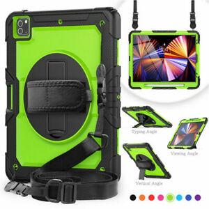 Shockproof Case Cover For iPad Pro 11 2020 2021 Tablet Heavy Duty Armor Strap pc