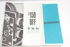 Bolex $150 Trade-in program 1964 Brochure  - USED B101
