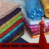Sequin Fabric Sparkly Shiny Bling Material Cloth 130cm Wide-Sold By The Meter