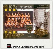 PC26- 2004 AFL Ovation Richmond 1974 VFL Premiership Commemorative Card