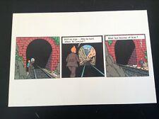 Carte postale Methuen  Tintin TBE