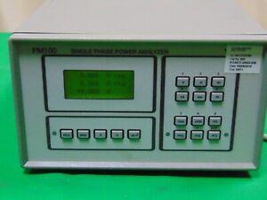 Voltech PM100 Digital Single Phase Power Analyzer AC / DC