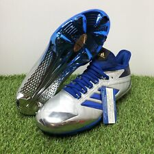8c8f687dcf4 Adidas Adizero Baseball Cleats - Afterburner 4 Faded Blue Men s Size 9  (BY3678)
