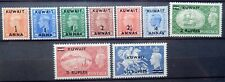Kuwait Scott #  93-101, Set of 9, Mint Original Gum (HR)