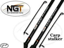 NGT Unisex Fr-f Camo Stalker-8ft 2pc Carp Stalking Fishing Rod Black 8