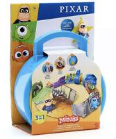 Mattel Disney World of Pixar Minis Playset Carry Case & Action Figure Toy Set