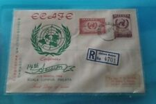 Malaysia Malaya 1958 14th session Ecafe Conference 2v Stamp Green Private FDC