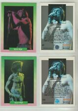 5 IGGY POP MUSIC AND ACTING CARDS FROM THE 1990S