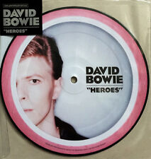 """DAVID BOWIE * HEROES * 40TH ANNIVERSARY LIMITED ED 7"""" PICTURE DISC * BN!"""